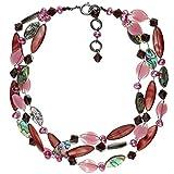 langani Halskette Yasmina Damen-Kette schwarzen Perle Handmade Since 1952