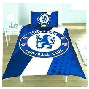 Chelsea F.C. Boys' Official Football Team Duvet Set Approx 135Cm X 200Cm