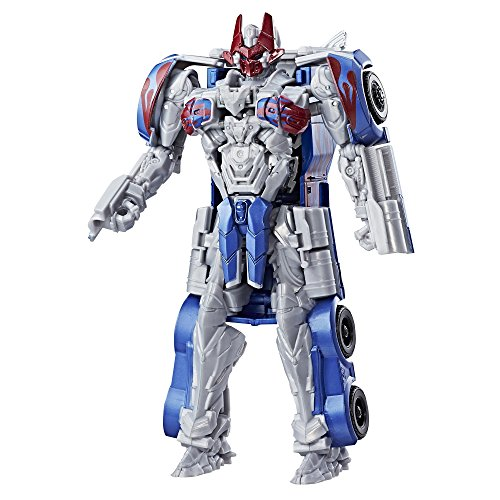 Transformers: l' ultimo knight - -cavaliere armatura turbo changer optimus prime