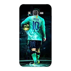 Cute Premier Number Ten Multicolor Back Case Cover for Galaxy J7