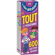 Les incollables - Tout le programme du CP - 6/7 ans: 600 questions réponses pour réviser en 2 éventails- Cahier de vacances