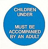 Schwimmbad ACHTUNG/Safety Sign Reminder Foamex Kinder unter spezielle Alter