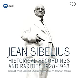 Sibelius : Historical recordings and rarities, 1928 - 1948 (B012PMZM4Y) | Amazon Products