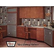 Trend Setting Kitchens: 1957 Revco Trade Catalog (English Edition)