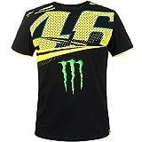 Valentino Rossi Offizielles VR46 2018 Monster Monza Replik T-Shirt - schwarz - Schwarz, XL