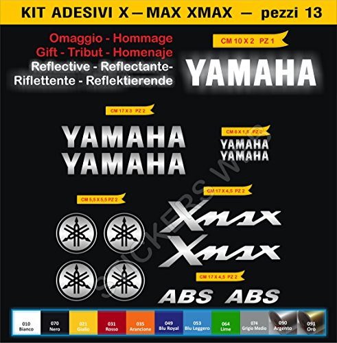 code-0076-yamaha-xmax-adhesive-motorbike-stickers-kit-12-stickers-choice-of-colours-argento-cod-090