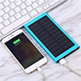 50,0000 mAh Solar Externer Blue Power Bank Pack portable akku Ladegerät Mobile UK