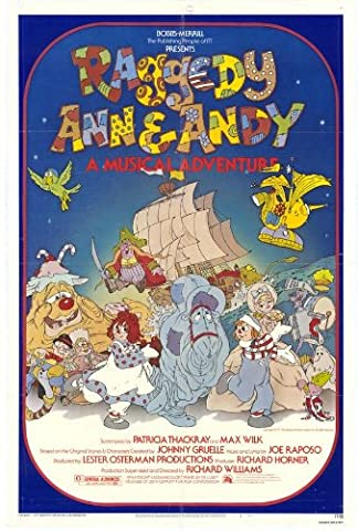 Raggedy Ann and Andy Affiche Movie Poster (27 x 40 Inches - 69cm x 102cm) (1977)