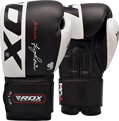 RDX Boxhandschuhe Rindsleder Gel Sparring Stanzen Handschuhe Trainings Muay Thai