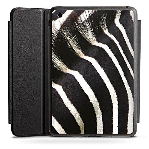Ipad Animal-print Case (Apple iPad Mini Smart Case schwarz Hülle mit Ständer Schutzhülle Zebra Dschungel Animal Print)