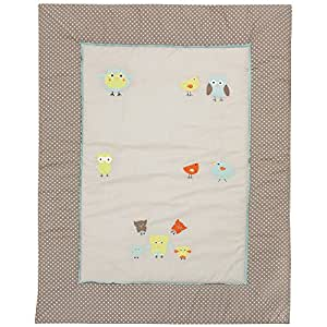 Alvi Krabbeldecke mit Applikation Birds 416-6