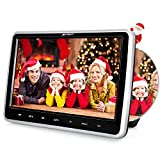 PUMPKIN Car Headrest DVD Player for Kids 10.1 Inch Monitor with LCD TFT