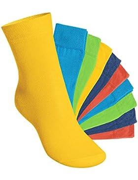 EVERYDAY! KIDS - Kinder Socken für Mädchen und Jungen - 10 Paar - Viele trendige Farben - Größen 35-50 - Original...