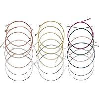 Rocita Set de Violin Cuerdas,4/4 Cuerdas de Violin con nucleo de Acero Sonido (4pcs)
