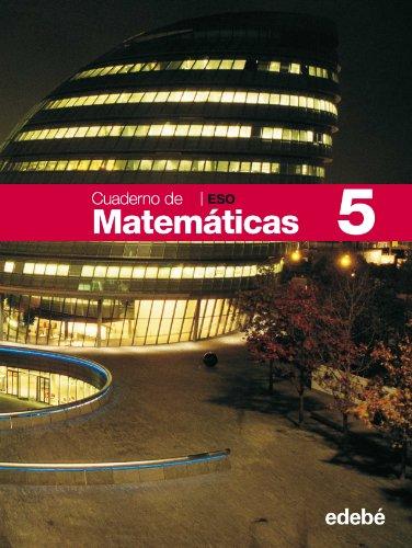 Cuaderno 5 Matemáticas - 9788423687558