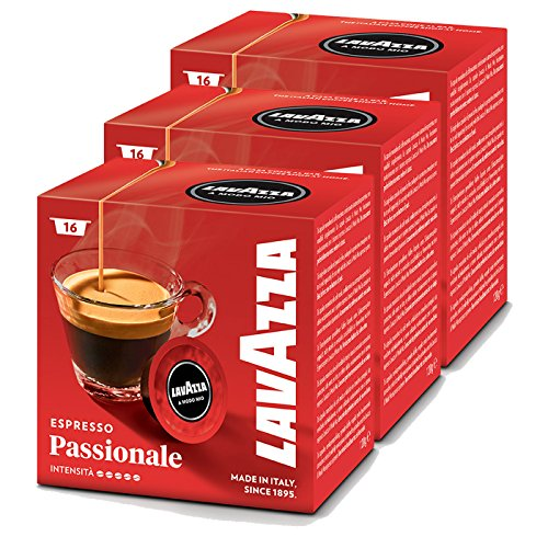 Lavazza A Modo Mio Espresso Passionale, Kaffee, Kaffeekapseln, Arabica, 48 Kapseln