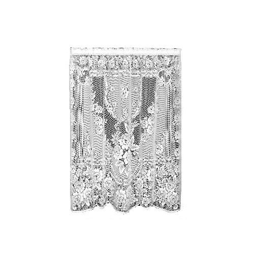 Heritage Lace Victorian Rose 60-Inch Wide by 84-Inch Drop Panel, White by Heritage Lace -