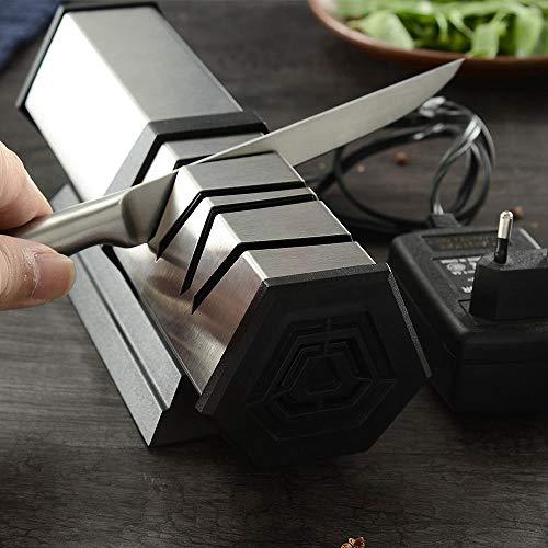 XYj 4 Bühne Elektrische Messerschärfer Professionelle Küchenmesser Schärfwerkzeug Diamant Schleifen Schärfer Für Stahl & Keramik Messer