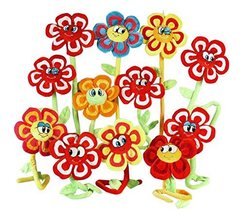 Globo Toys Plüschblume, 1Stück, Verschiedene Modelle