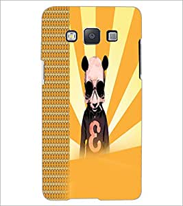 PrintDhaba Cartoon D-2923 Back Case Cover for SAMSUNG GALAXY E5 (Multi-Coloured)