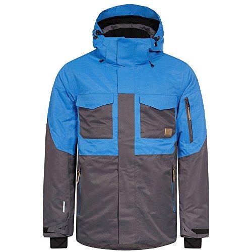 Icepeak Kanye Herren Ski- Snowboardjacke blau grau (50)