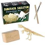 Ausgrabungsset Dinosaurier Skelett ca. 4 x 8 cm