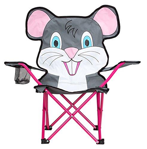 SCHREUDERS SPORT 21dj Junior Animal Comic Klappsessel Einheitsgröße Grey/White/Pink/Fuchsia/Blue