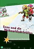 Lena und die Weihnachtsdetektive: Fensterbild-Adventskalender mit Begleitheft, ab 8 Jahre