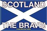 Fußball - Scotland the brave - Sport Poster Fußball Fussball - Grösse 91,5x61 cm + 1 Ü-Poster der Grösse 61x91,5cm