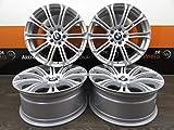 4 Alufelgen AVUS Racing AC-MB1 17 Zoll passend für BMW 1er 2er 3er E90 E91 F31 F30 4er F32 F33 5er X1 X3 XZ NEU
