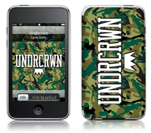 MusicSkins UNDRCRWN - Camo Skin für Apple iPod Touch (2. und 3. Generation)