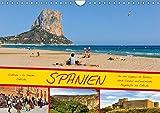 Spanien / CH-Version (Wandkalender 2018 DIN A4 quer): Von Kastilien - La Mancha zur Ostküste (Monatskalender, 14 Seiten ) (CALVENDO Natur) [Kalender] [Apr 01, 2017] Wenk, Marcel - CALVENDO