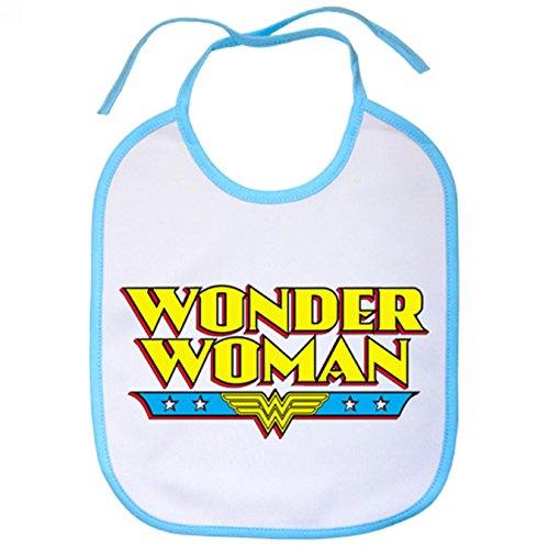 Babero Wonder Woman - Celeste