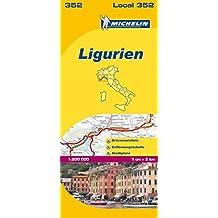 Michelin Ligurien: Straßen- und Tourismuskarte 1:200.000 (MICHELIN Localkarten)
