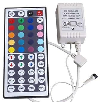 Controller 44 Tasten Remote f?r RGB LED Strip Streifen