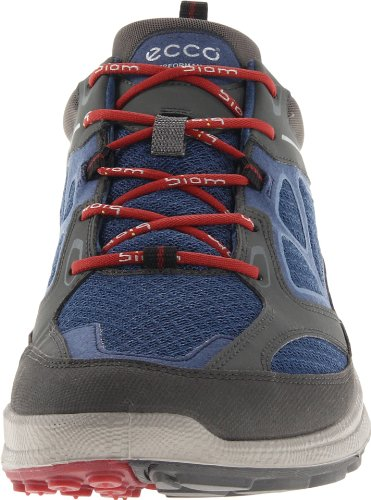 Ecco Biom Ultra Black/Fire/Fire Syn/Tex/Deco 840004 Herren Sport- & OutdoorSchnürschuh Blau (DARK SHADOW/DENIM BLUE/PORT 58416)