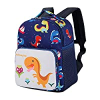 Kids Backpack - Belegao Baby Boys Girls Toddler School Bag Kindergarten Cartoon Daypack Dinosaur Pig Animal Rucksack Safety Anti-Lost Harness with Reins for 1-3 Years Old Children