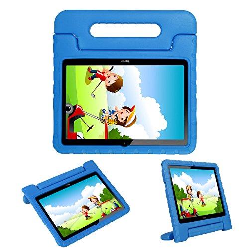 Kids Schutzhülle Ständer für Huawei Honor Play Pad 2/MEDIAPAD T324,4cm ags-w09, I-Original Eva-Schaum Stoßfeste Schutzhülle Tragegriff leicht Tablet Holder Cover für Kleinkinder Kinder