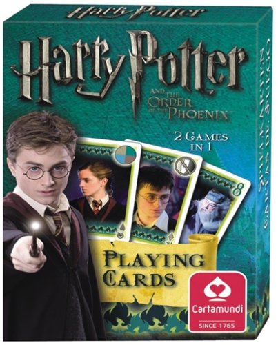Click for larger image of Harry Potter and the Order of the Phoenix Playing Cards
