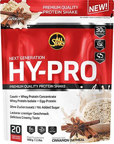 All Stars Hy-Pro Protein, Cinnamon-Oatmel, 1er Pack (1 x 500 g)
