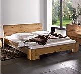 Hasena Oak Line Bett Varus Füße Vaco massiv Eiche Natur 200x200