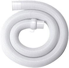 Neerjharini™️ 6 METER UNIVERSAL FLEXIBLE PLASTIC WASTE WATER OUTLET / DRAIN PIPE / EXTENSION PIPE / DISCHARGE PIPE For ALL Top Load / Loading Fully Automatic & Semi Automatic Washing Machine Suitable For All Brands ( LG, Samsung, Godrej, Whirlpool, Videocon, Onida, Intex, Bosch, IFB, Panasonic & Other Brands ) (Length: 6 Meter)