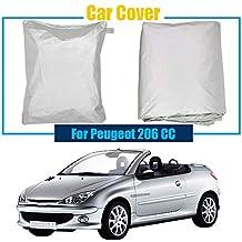 ERQINGCZ Cubierta Impermeable del Coche Accesorio para Automóvil Cubierta De Automóvil A Prueba De Polvo Resistente