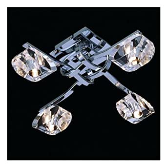 Luminaire plafonnier Tourmaline 4 Lampes
