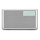 GGMM® E3 Wi-Fi and Bluetooth Alarm Clock Radio Speaker with USB Charging Port, Featuring Airplay, DLNA, Spotify, Pandora, iHeartradio and Multi-Room Play, Streaming music from your Devices(pearl white)