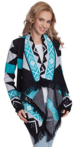 Merry Style Donna Cardigan Elle Turchese