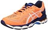 ASICS Unisex-Kinder Gel-Kayano 23 Gs Turnschuhe, (Shocking Orange/White/Indigo Blue), 37 EU