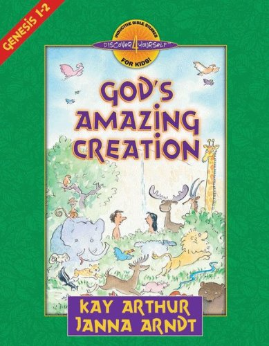 God's Amazing Creation: Genesis, Chapters 1 and 2 (Discover 4 Yourself® Inductive Bible Studies for Kids) (English Edition) (Arthur Kinder Dvd)