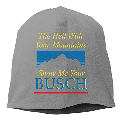 Wdskbg Busch Light Beer Beanies Cap (5 Colors) (Spike Beanie Herren)