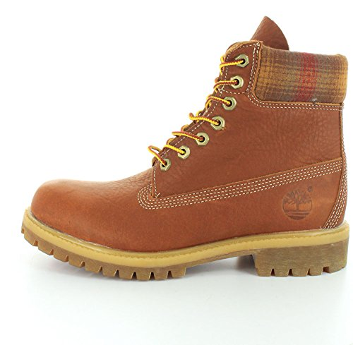 Timberland 6 In Premium Boot Medium, Bottes Track homme Marrón